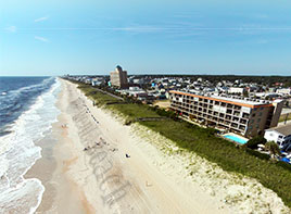 Carolina Beach and Kure Beach Aerial View